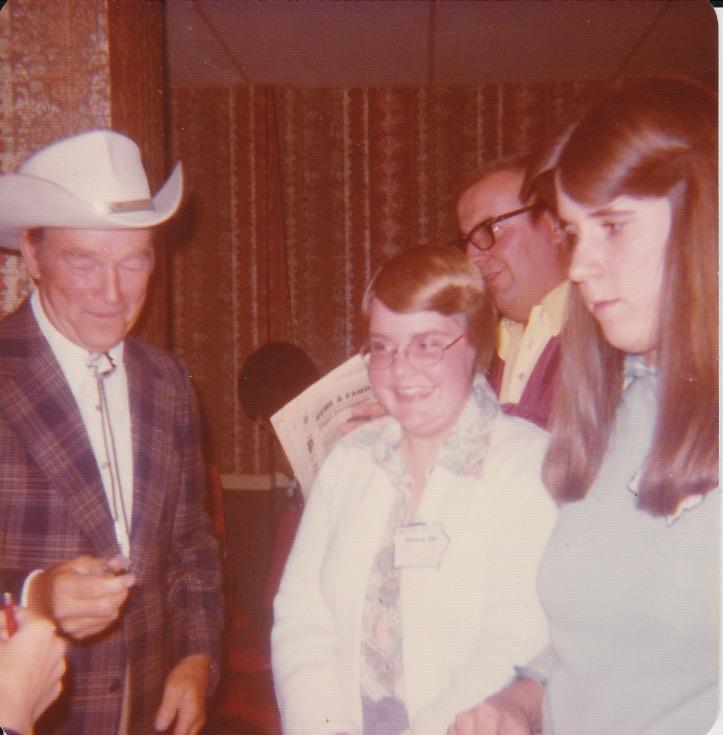 Meeting Roy Rogers
